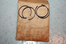 nos Yamaha generator snowblower piston pin circlips 4 pcs.