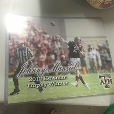 Johnny Manziel Autographed 16x20 Photo Unsigned Texas Aggies