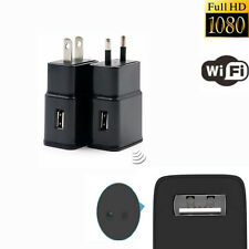 Cell Phone Charger Hidden Camera Mini 1080P WIFI HD SPY DVR Wall Adapter Plug