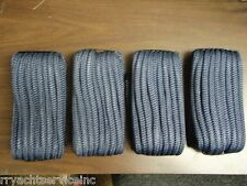 "DOUBLE BRAID DOCK LINE  5/8"" X 20FT NAVY  50-39631  4 PAC 15"" EYE SPLICE BOAT"