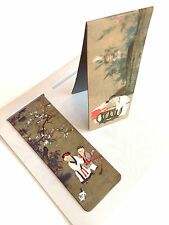 New Set of 2 Magnetic Bookmark Chinese Ancient Painting Kids Children Play Free
