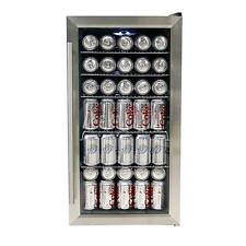 Whynter BR-125SD Beverage Refrigerator, Stainless Steel New