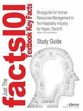 Studyguide for Human Resources Management in the Hospitality Industry by...