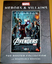 Marvel Heroes and Villains Movie Poster Collection (14 of 40 Left)