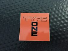SPOON SPORTS TYPE ONE STICKER DECAL
