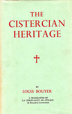 "LOUIS BOUYER - ""THE CISTERCIAN HERITAGE"" - 1st ENGLISH TRANSLATION - HB/DW(1958)"