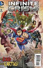 Infinite Crisis Fight For The Multiverse #12 (NM)`15 Abnett/ Hernandez/ Derenick