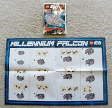 LEGO Star Wars - Rare - 911607 Millenium Falcon Foil Pack w/ Instructions/poster