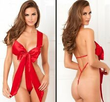 Spicy Red Seduction Teddy - Sexy Lingerie