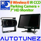 24V/12V Wireless IR CCD Reversing Camera Caravan Truck Tunezup Car Truck Tough