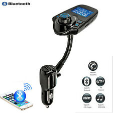 Car Wireless Bluetooth MP3 Player FM Transmitter Handsfree USB Charger For Benz