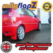 Mud Flaps to fit FORD FIESTA MK6 ST (02-07) RallyflapZ Red Kaylan PU