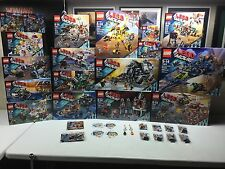 LEGO The Lego Movie Lot 20 Sets 70800-70818, 30280 30282, Minifigures, Keychains