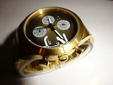 Vestal Madera All Stainless Steel Chronograph Womens Watch in Gold