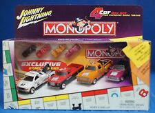 Johnny Lightning Monopoly 1:64 Die-cast Cars 1 Set of 4 Vehicles 2002 Set #2 (A)