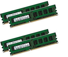 4x 4gb 16gb Samsung PC DESKTOP RAM memoria DIMM ddr3 1333 MHz pc3-10600u 240pin
