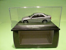 SCHUCO  1:43 MERCEDES BENZ C KLASSE   - GOOD CONDITION IN BOX - DEALER EDITION.