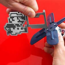 Official Super Mario Bros. Collector's Edition Multi-Tool Pixel Design Keychain
