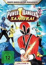 Power Rangers Samurai Volume 3: Der sechste Ranger (DVD Video)