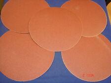 """5 x 230mm Velcro Sanding Discs 100g for Disc & Belt Sander 4"""" x 9"""" Draper Nutool"""