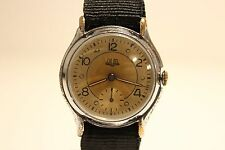 "VINTAGE RARE EARLY MILITARY SUB SECOND GERMANY MEN'S WATCH GLASHUTTE GUB""/CAL.60"