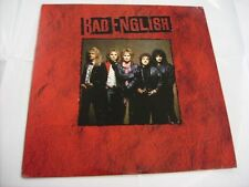 BAD ENGLISH - BAD ENGLISH - LP VINYL 1989 U.S.A. PRESS