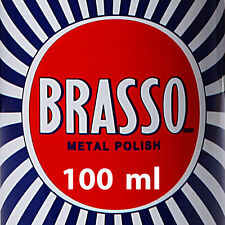 Brasso Multi-Purpose Metal Polish for home & car cleaning copper aluminum chrome