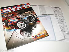 TEAM XRAY XB8 2014 SPEC BUGGY INSTRUCTION MANUAL PARTS LIST