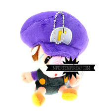 SUPER MARIO BROS. BABY WALUIGI PELUCHE mini party kart wii junior new plush jr.
