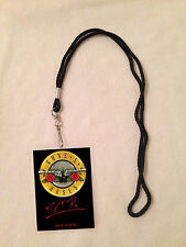 GUNS N' ROSES NOT IN THIS LIFETIME TOUR 2016 VIP ALL ACCESS BACKSTAGE MEET PASS!