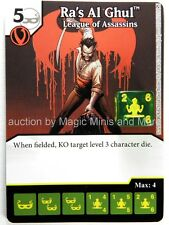 Green Arrow Flash ~ RA'S AL GHUL League Assassins #107 rare DC Dice Masters card