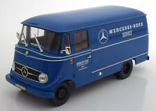 Norev 1960-1966 Mercedes L319 Mercedes Benz Service Bus Blue Dealer Ed. 1/18 New