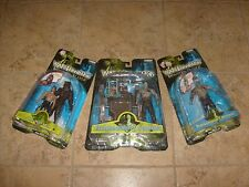 3 Van Helsing Figure 2004 Lot Jakks Pacific Wolfman Frankenstein NEW MOC Set