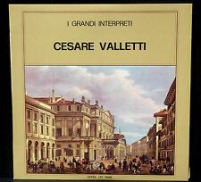 Cesare Valletti Cetra LPC 55002  I grandi interpreti LP EX/NM, CV NM.