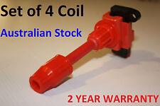 4 x S15 Silvia 200sx Ignition Coil Packs for Nissan SR20DET Black Top MCP3350