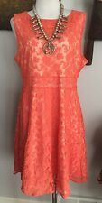 New SUNDANCE CATALOG Emma Lace Dress 14 XL NWT $186