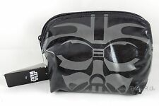 NEW Disney Star Wars Darth Vader Helmet Face Cosmetic Make-Up Tote Bag Purse