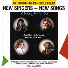 CD New Singers New Songs  93 von Various Artists   by Wolfgang Lackerschmid