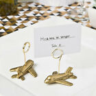 12 Airplane Travel Theme Place Card Holders Bridal Shower Wedding Favors