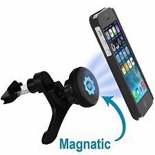 WizGear Universal Air Vent Magnetic Car Mount Holder Fast Swift-Snap all phones