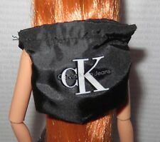 PURSE ~ BARBIE DOLL BLACK & WHITE CALVIN KLEIN BACKPACK BAG ACCESSORY CLOTHING