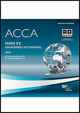 ACCA - F2 Management Accounting: i-Pass, BPP Learning Media Ltd, Very Good, CD-R