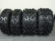 HONDA RECON 250 ATV DEEP LUG TIRES COMPLETE SET OF 4 SWAMP LITE ATV SWAMPLITE