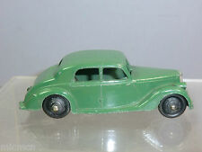 "DINKY TOYS MODEL No.40A  RILEY SALOON ""1st TYPE "" BASEPLATE"" DARK GREEN VERSION"""