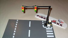 Lego Custom Street Light Traffic signal stop light Downtown Scene repositional