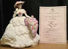 Coalport Celebration Of The Seasons Lilac Time Figurine Sculpted By Jack Glynn