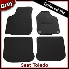 Seat Toledo Tailored Fitted Carpet Car Mats GREY (1999 2000 2001 2002 2003 2004)
