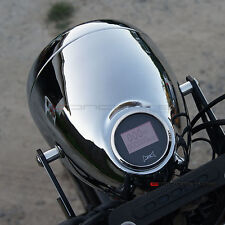 "Uni Motorcycle 5.75"" Headlight + Integrated Speedo - Ducati Custom Project"