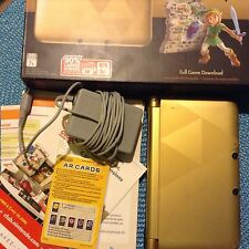 Nintendo 3DS XL- The Legend of Zelda: A Link Between Worlds Limited Edition Used