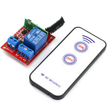 12V One Channal RF Wireless Relay Module with Remote Control
